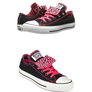 Converse Chuck Taylor All Star Double Tongue PINK